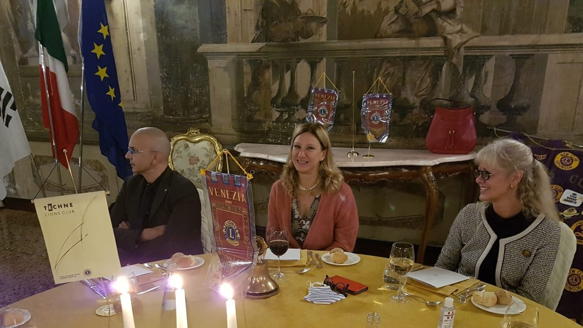 """13 ottobre 2020 – LC Venezia Host – Serata di apertura all'insegna del """"leggere colora la mente"""""""